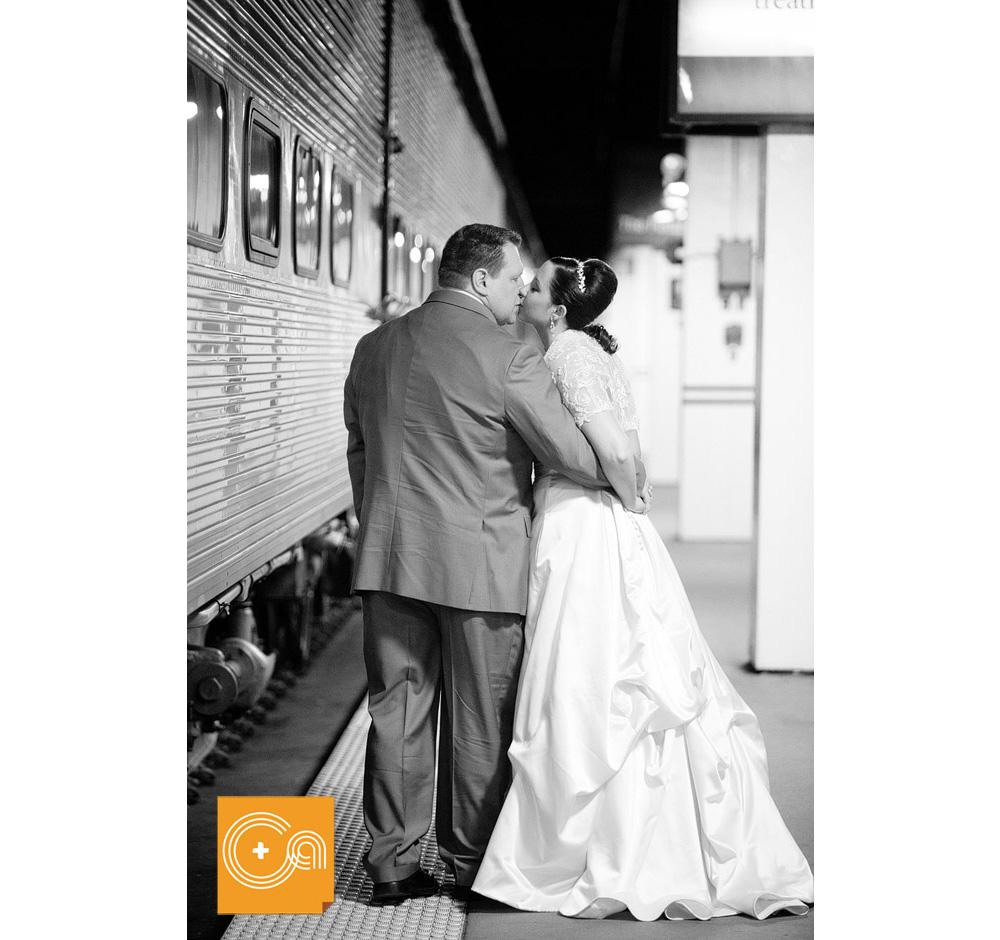 Byron Colby Barn Wedding: Union Station & Byron Colby