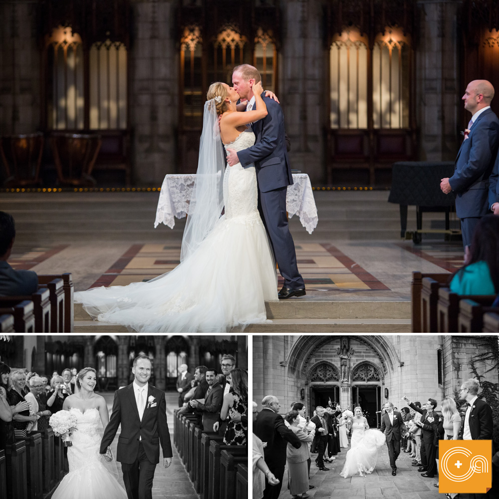 Rockefeller Memorial Chapel Wedding